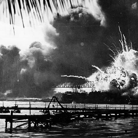 Attack on Pearl Harbor and US Enters War