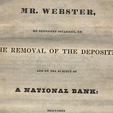 The Second Bank of the US (vetoed)