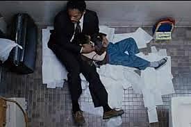 Chris and Christopher sleep in a bathroom