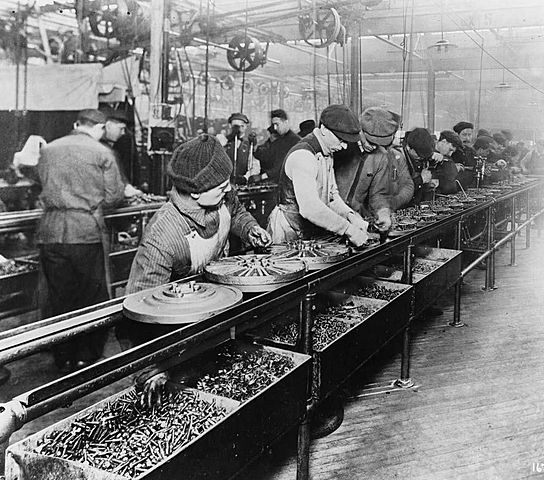 Henry Ford production line