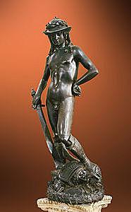 Creació del David de bronze de Donatello di Niccolò