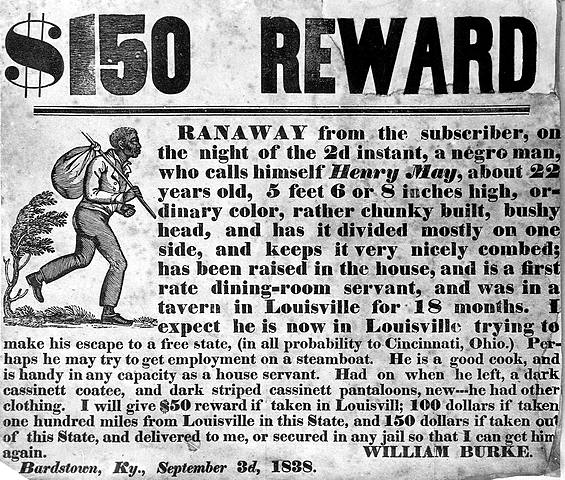 The Fugitive Slave Laws