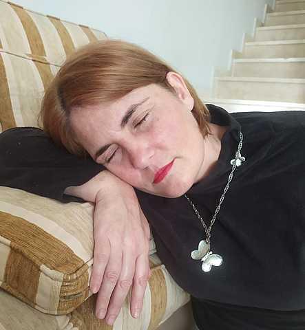 Joven durmiendo/ Durmiendo chica - Sonia Delaunay