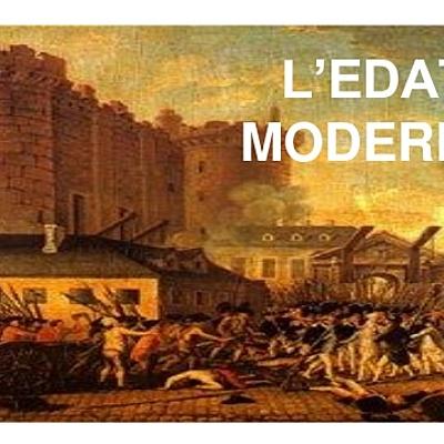 Eix cronològic de l'Edat Moderna timeline