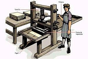 Invenció de la imprenta