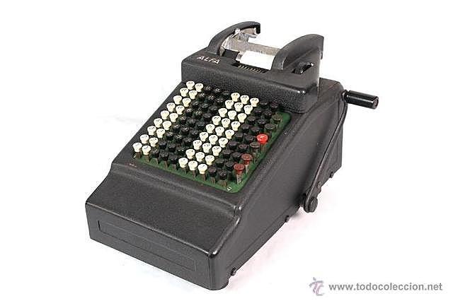 Calculadora mecànica.