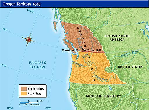 Annexation of Oregon