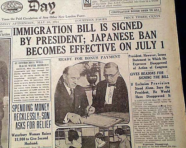 The Immigration Act of 1924