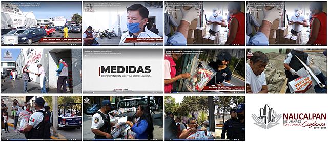- Entrega de Apoyos a las Comunidades Vulnerables de Naucalpan - Medidas de Prevención contra el COVID -Jornada de Sanitización y Medidas de Higiene en Mercado de San Bartolo.