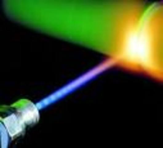 laser invented