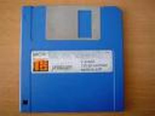 coputer floppy disks introduced