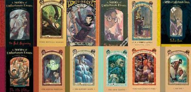 I Finished Reading Series of Unfortunate Events