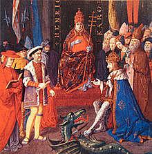 Henry became King of England