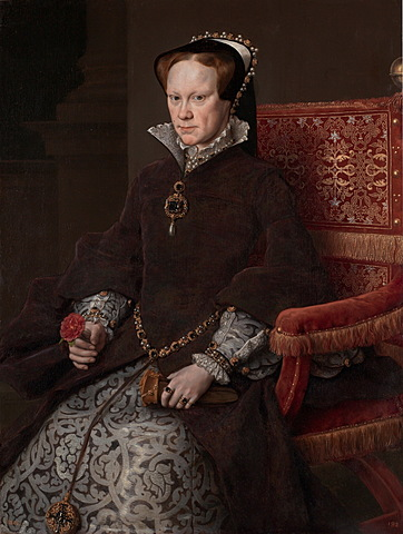 Queen Katherine gave birth to a daugther.