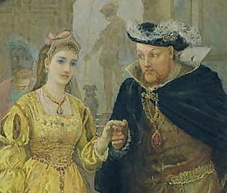 Henry VIII married Anne Boleyn in public