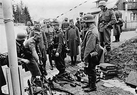 Les conquestes alemanyes dels Balcans (Hongria, Romania, Eslovàquia, Iugoslàvia i Grècia)