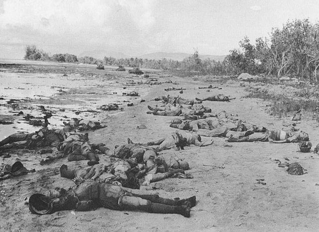 La derrota japonesa de Guadalcanal