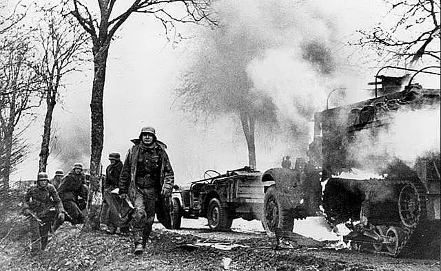 La derrota alemanya a les Ardenes