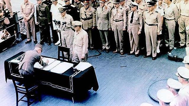 La capitulació japonesa