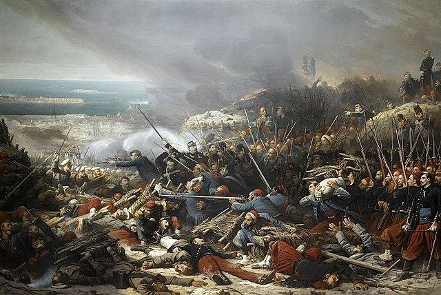 Inizio Guerra di Crimea