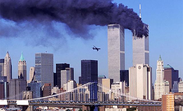 Caiguda de les Torres Bessones - 11/09/2001