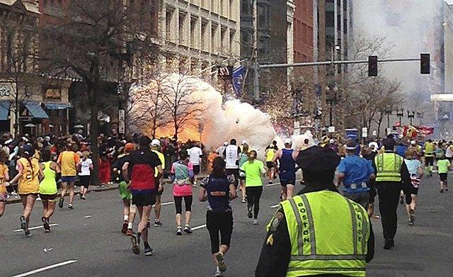 Explosions a la Marató de Boston - 15/04/2013