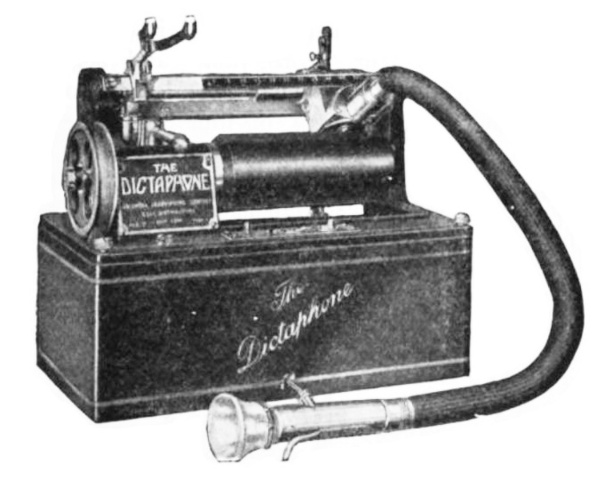 The Dictaphone was invented