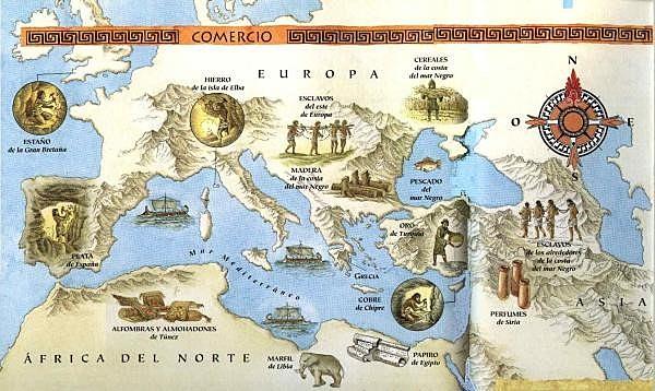 Comercio en la antigua Roma