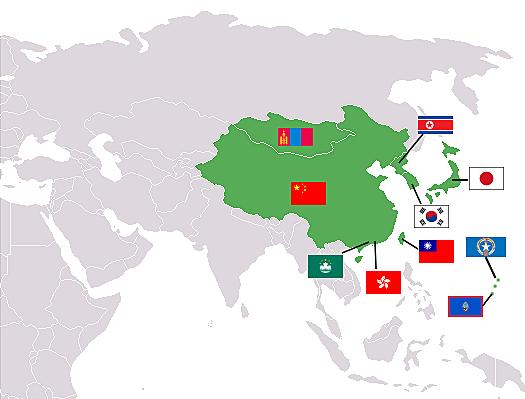 Crecimiento de Asia.