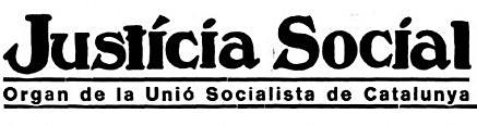 La Unió Socialista de Catalunya (USC)