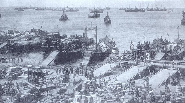 El desembarcament d'Alhucemas