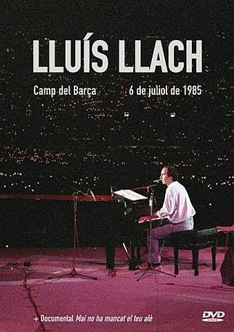 Gran concert històric de Lluís Llach - 7/07/1985