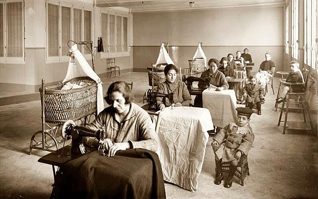 Mujeres durante la Revolución Industrial