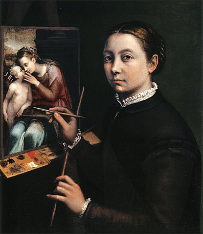 Autorretrato de Sofonisba Anguissola