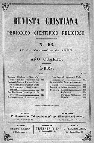 Acción pedagógica Social de la Iglesia Evangélica.