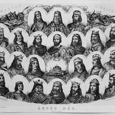 Árpád-házi királyok timeline