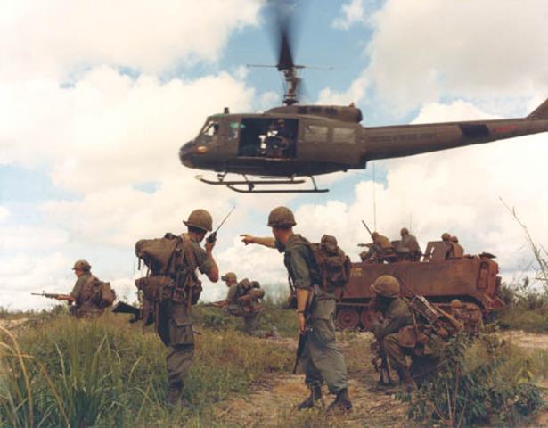 U.S. Soldiers sent to Vietnam