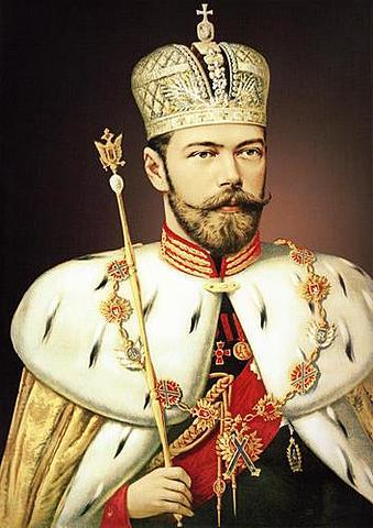 Nicholas ll crowned Czar