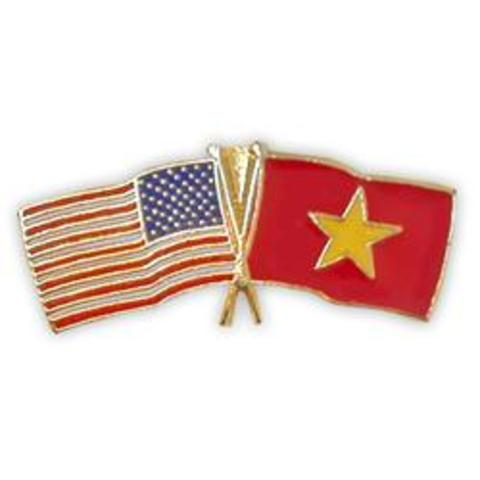 Political relationships are set up by Vietnam and the U.S.