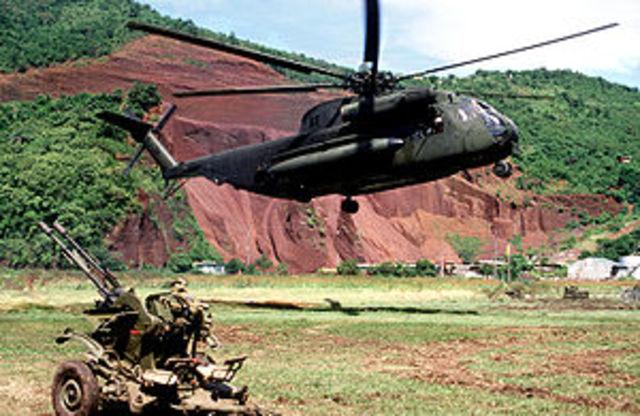 U.S. invades Grenada