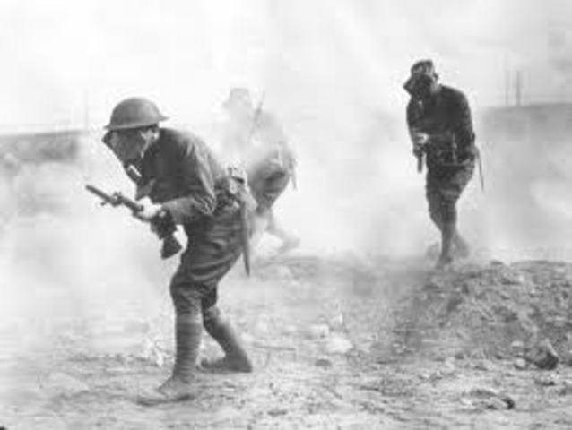 Begining of WWI