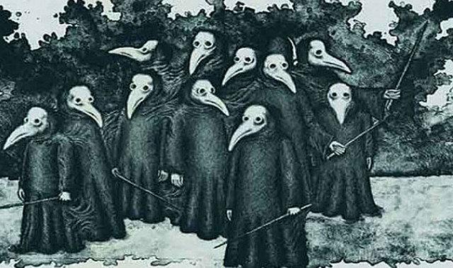 La Peste Negra (1346-1348)