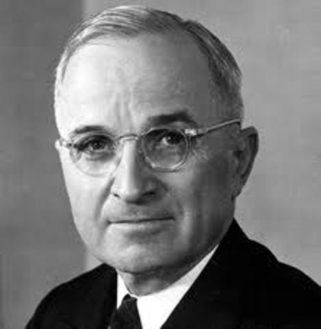 Harry Truman became president