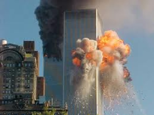 World Trade Centers attacked