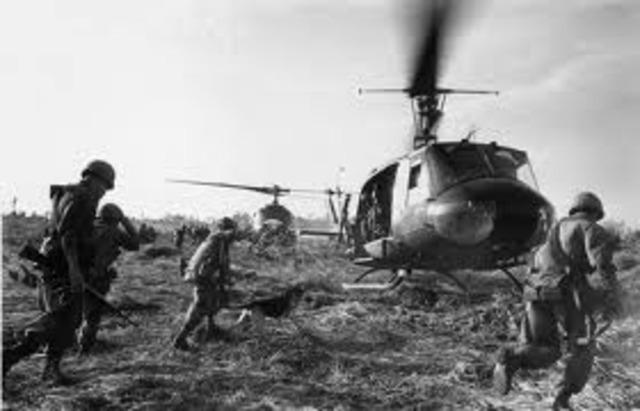 Beganing of Vietnam War