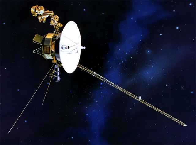 Voyager II, the first space probe to fly by the four gas giant planets – Jupiter, Saturn, Uranus, and Neptune – is launched.
