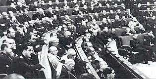 Gorte frankistek Erreforma Politikarako Legea onartu