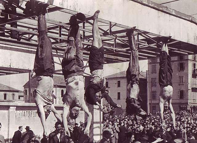 L'execució de Mussolini