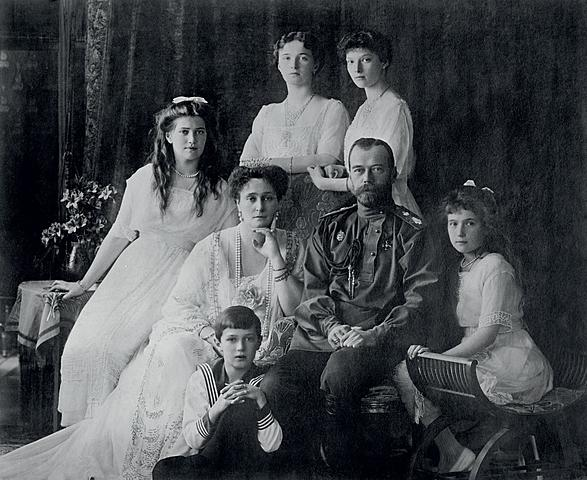 Czar Nicholas and his family die