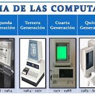 Generaciones de la computadora por Melissa Cisneros timeline